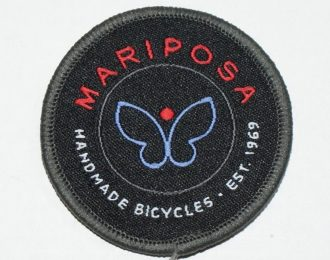 Mariposa Bicycles Patch