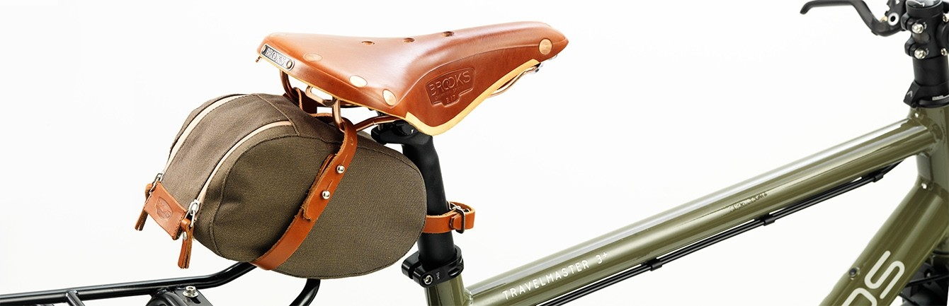 Brooks Large or Medium Nylon Rain Cover Leather Bicycle Saddle Protection